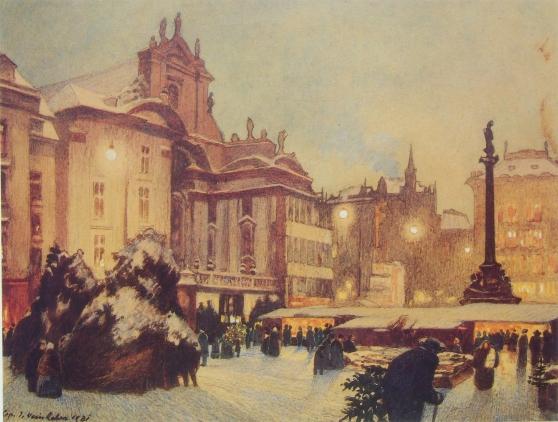Weinheber_Christkindlmarkt Am Hof 1931_2